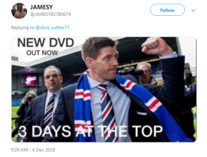 Rangers new DVD out